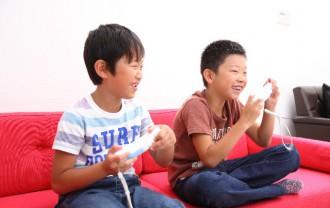 子どものゲーム画像
